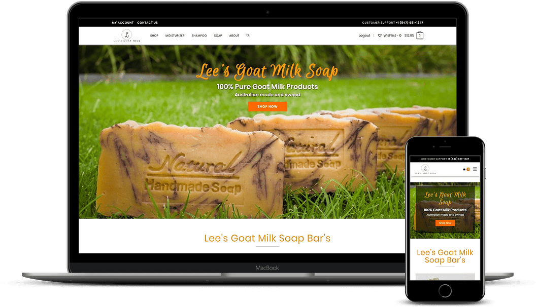 lees goat milk products